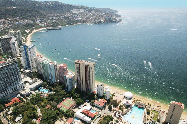 картинка фотография курорта Акапулько в Мексике