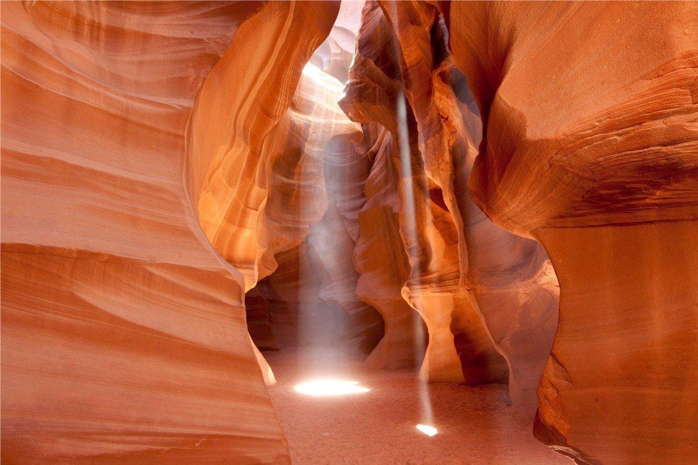 Каньон Антилопы, США. Antelope Canyon, USA