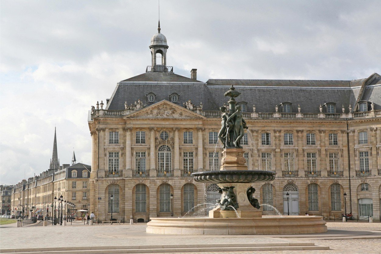 Город Бордо. Франция. Bordeaux, France