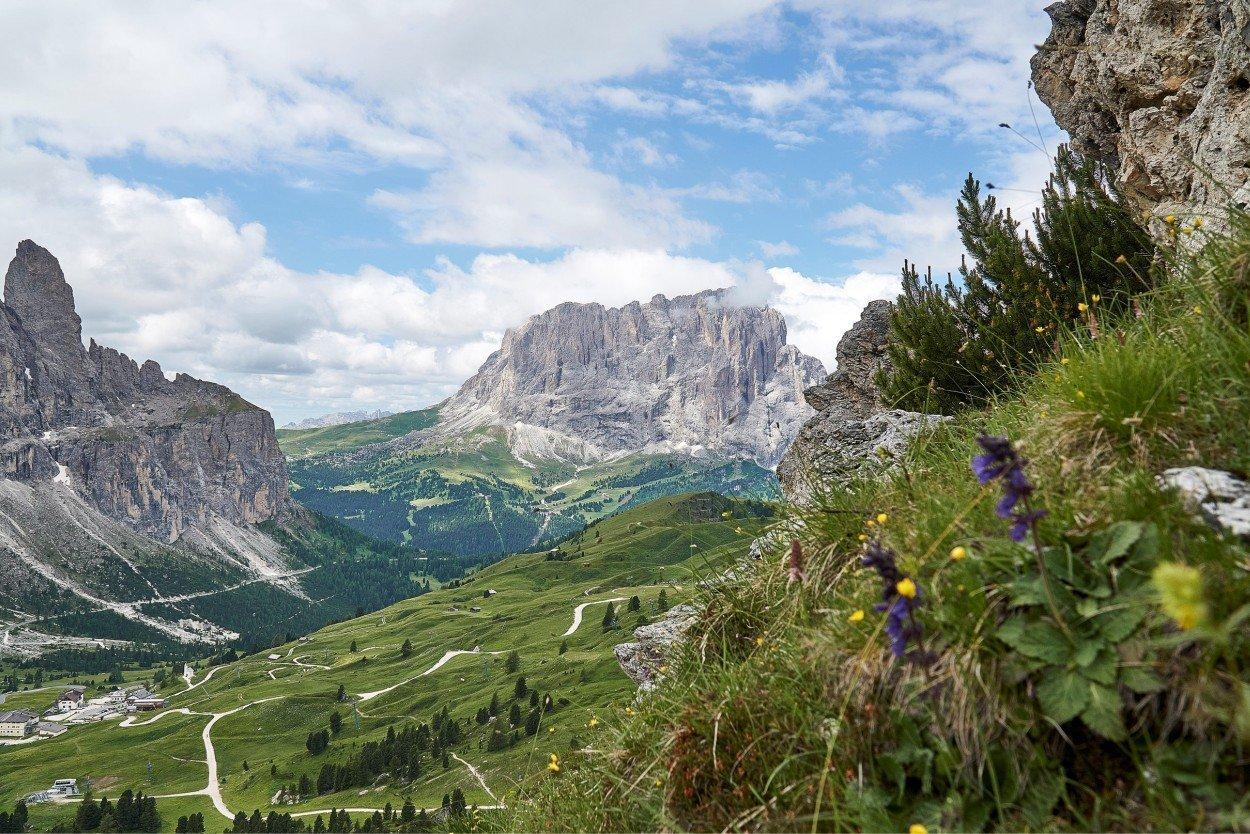 Доломиты, Южный Тироль. Dolomites, Italy