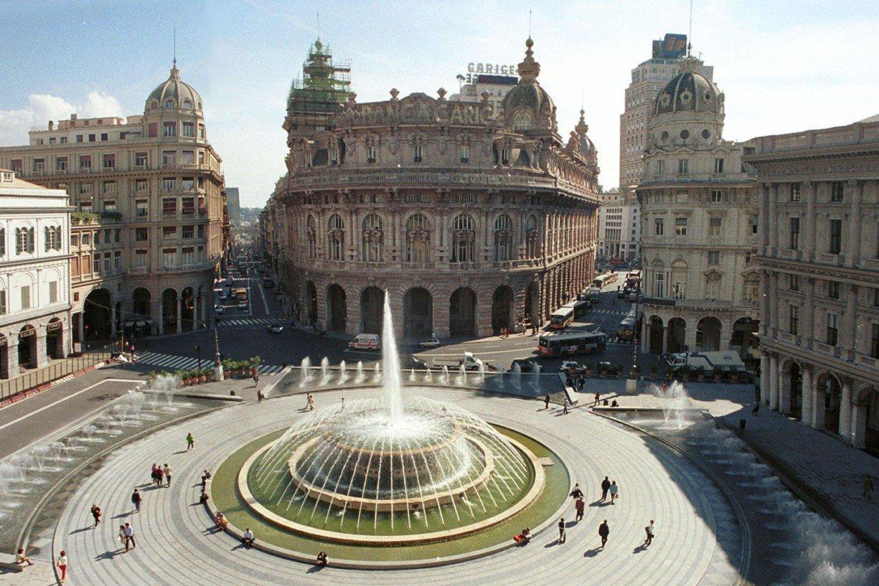 Генуя, Италия. Genoa, Italy