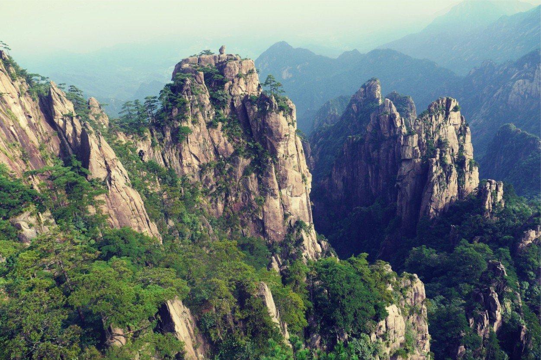 Хуаншань, Желтые горы. Huangshan Mountain, China