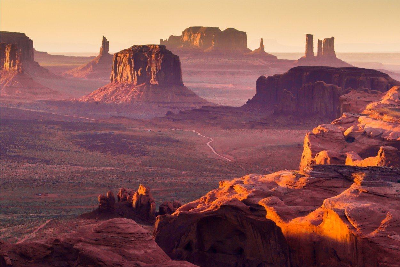 Долина Монументов, США. Monument Valley, USA