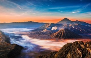 Вулкан Бромо, Индонезия. Mount Bromo, Indonesia