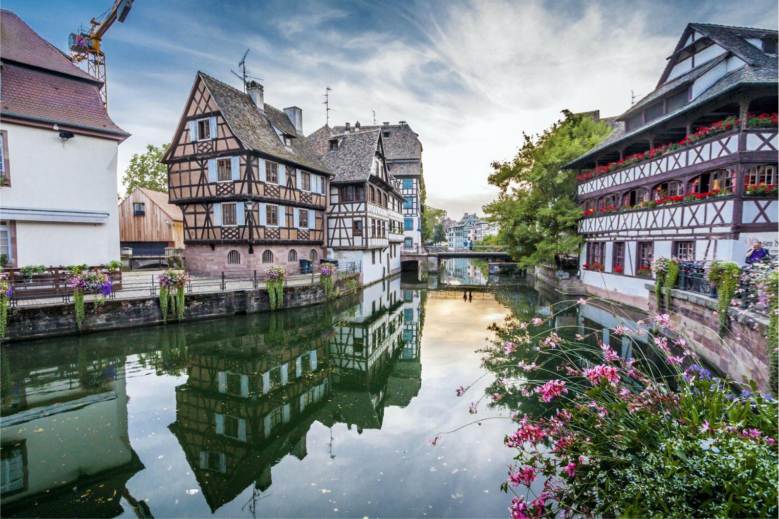 Strasbourg, France. Страсбург, Франция.