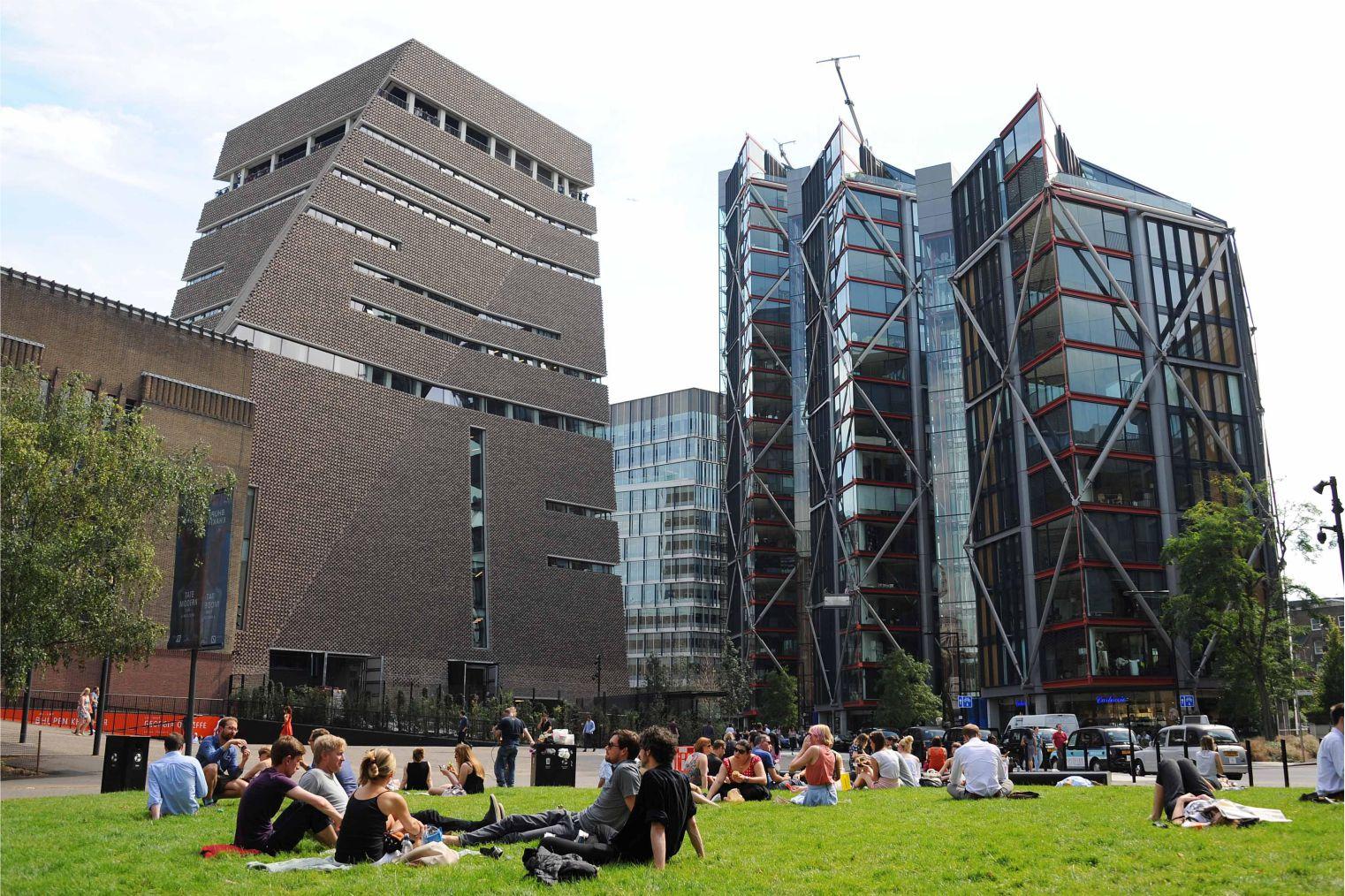 Tate Modern, London. Галерея Тейт Модерн, Лондон.