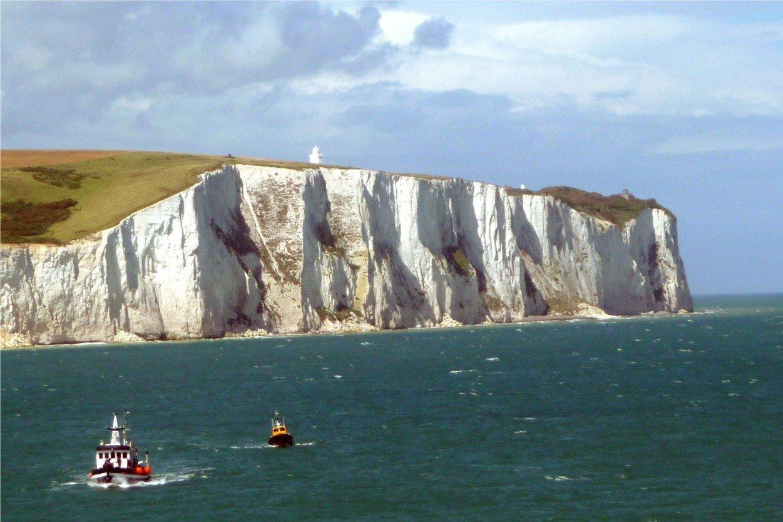Белые Скалы Дувра. Великобритания. White Cliffs of Dover, UK