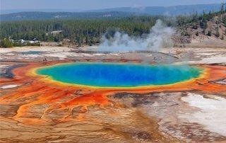 Йеллоустоун. Yellowstone, USA