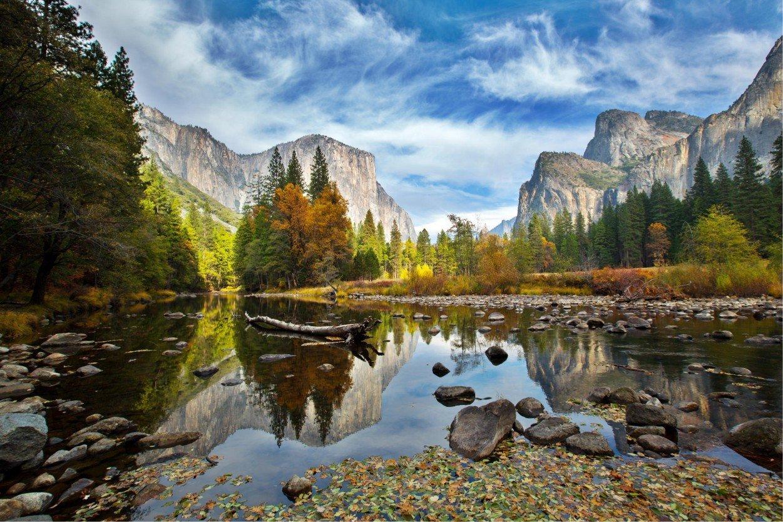 Йосемити, США. Yosemite, USA