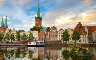 Любек, Германия. Lübeck, Germany