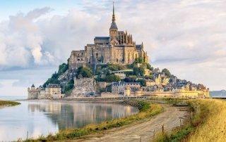 Mont Saint-Michel. Мон-Сен-Мишель, Франция. Туризм, информация.