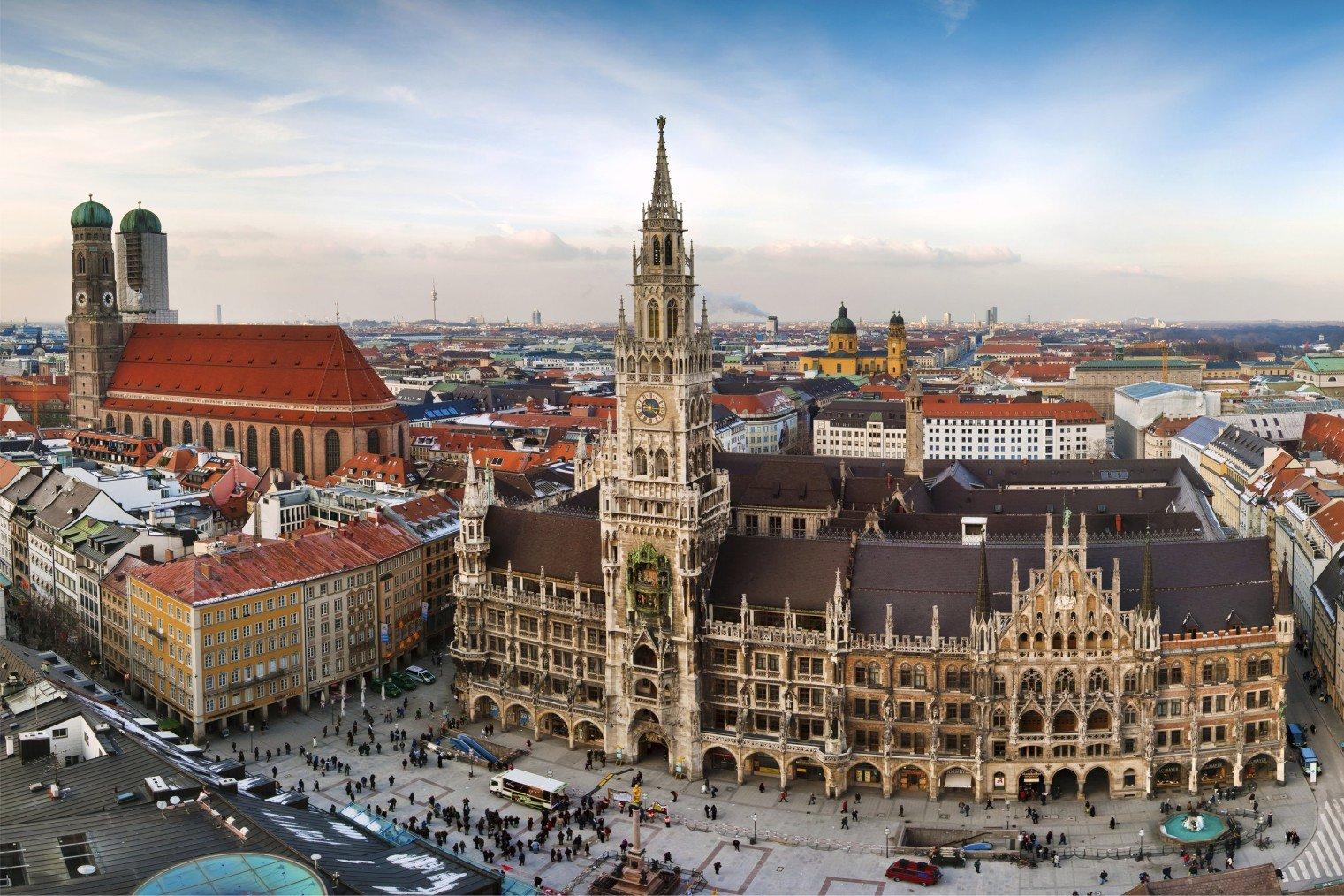 Munich. Мюнхен, Германия. Туризм, информация о городе.