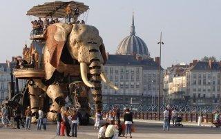 Nantes. Нант, Франция. Туризм, информация о городе.