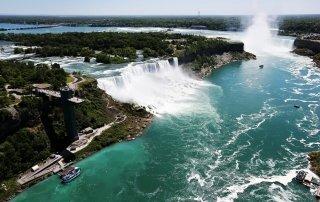 Niagara Falls. Ниагарский водопад, США. Туризм, информация.