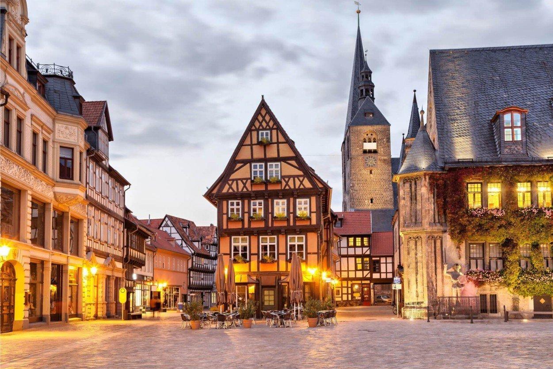 Кведлинбург, Германия. Quedlinburg, Germany