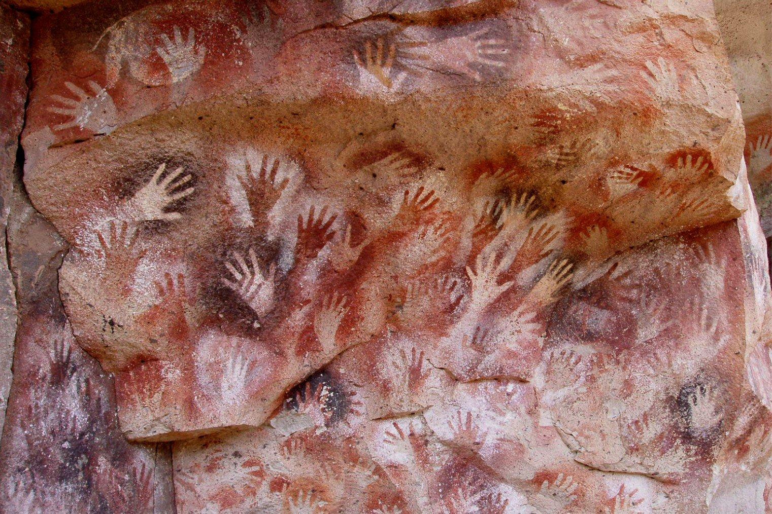 Пещера Рук (Куэва-де-лас-Манос). Cave of Hands (Cueva de las Manos), Argentina