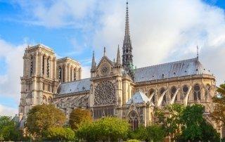 Нотр-Дам де Пари, Франция. Notre-Dame de Paris, France