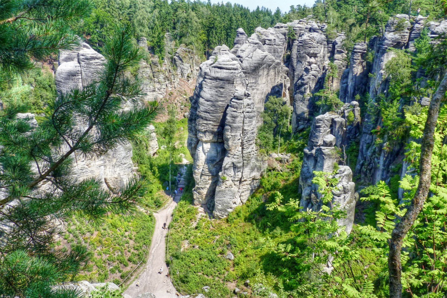 Праховские скалы, Чехия. Prachov Rocks, Czech Republic