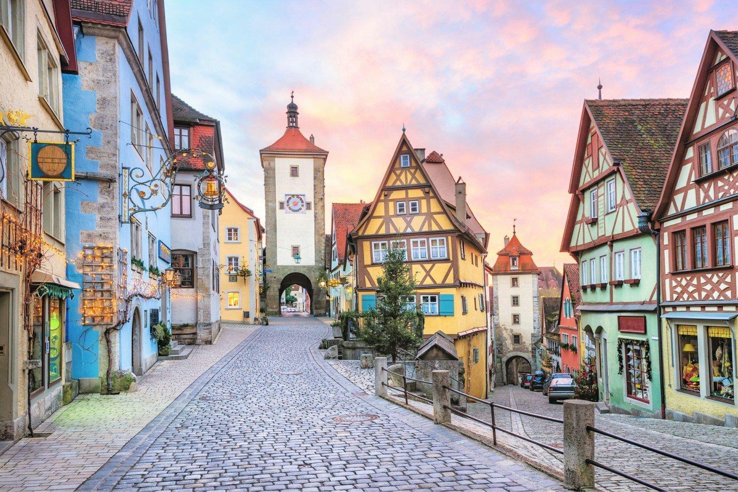 Ротенбург на Таубере, Германия. Туризм, информация. Rothenburg ob der Tauber, Germany