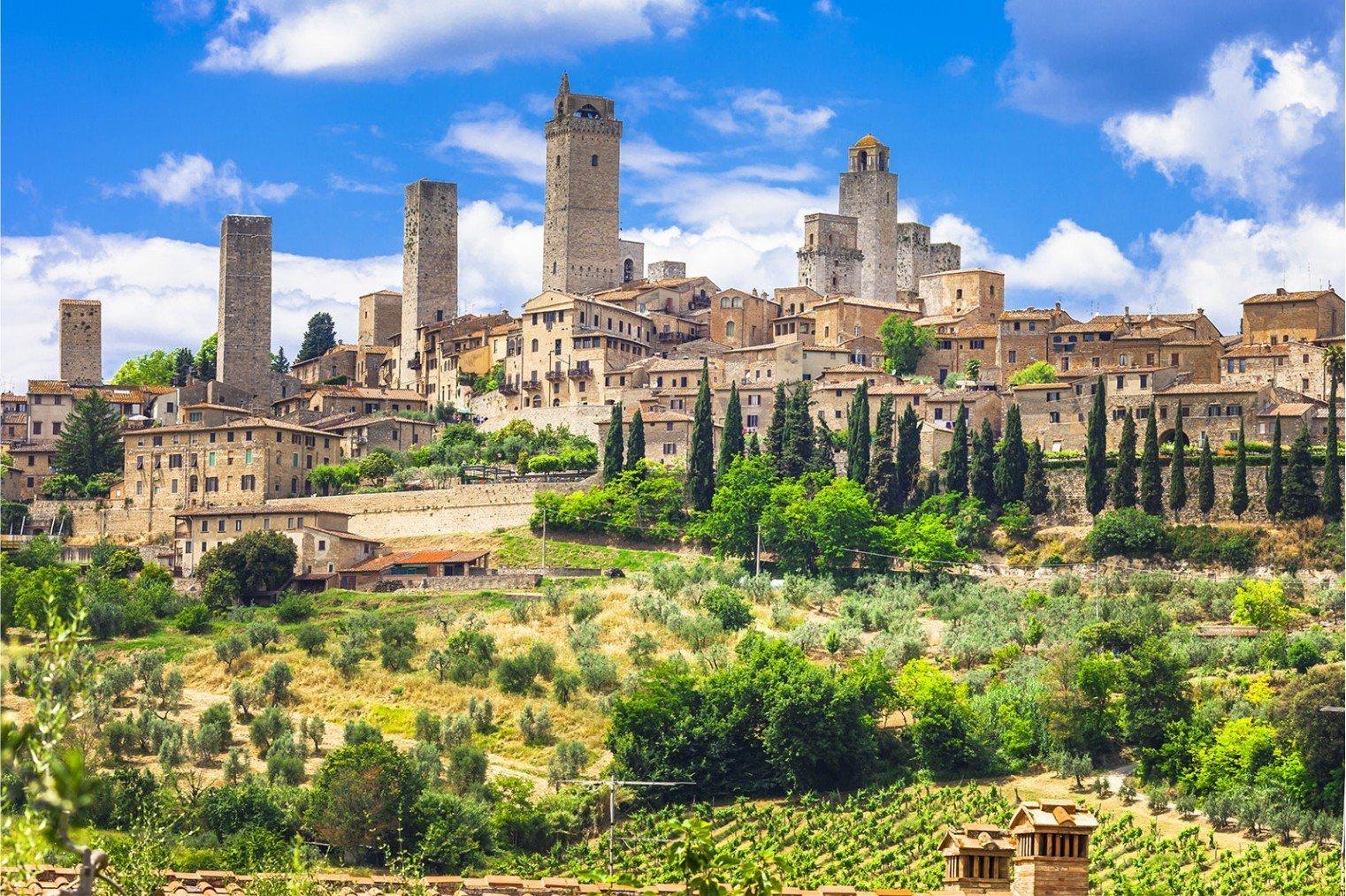 Сан-Джиминьяно, Италия. San Gimignano, Italy