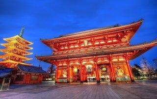 Сэнсо-дзи (Храм Асакусадэра). Senso-ji Temple, Tokyo