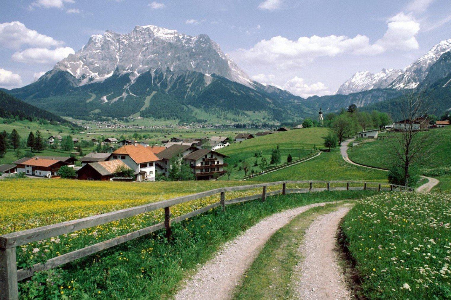 Цугшпитце, Германия. Zugspitze, Germany