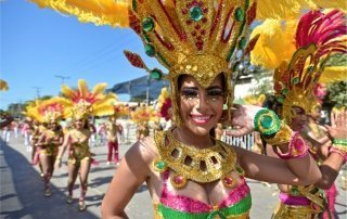 Barranquilla Carnival, Colombia. Карнавал в Барранкилья. Колумбия.