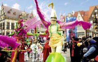 Carnival in Bremen, Bremer Karneval, Germany. Карнавал в Бремене.