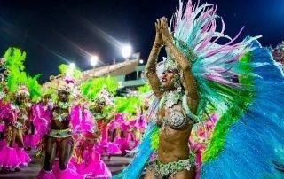 Carnival in Rio de Janeiro, Brazil. Карнавал в Рио. Бразилия.