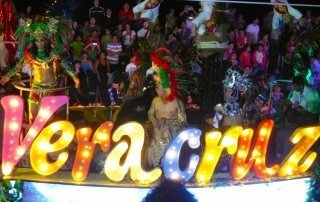 Carnival in Veracruz, Mexico. Карнавал в Веракрус, Мексика.