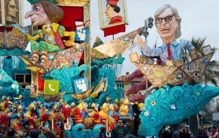 Carnival of Viareggio, Italy. Карнавал Виареджо, Италия