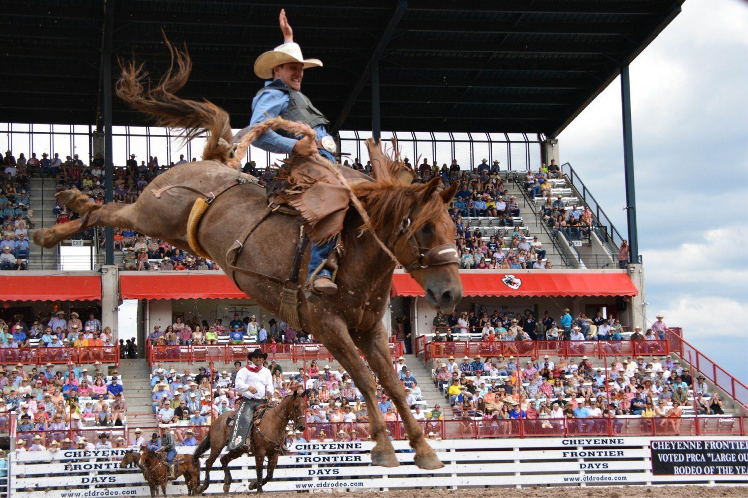 Cheyenne Frontier Days, USA. Родео Фестиваль в Шайенн, США.