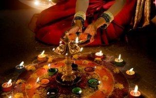 Diwali — Festival of Lights, Mumbai, India. Фестиваль Дивали. Индия.