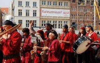 Ghent Festival (Gentse Feesten), Belgium. Гентский Фестиваль. Гентские праздники.