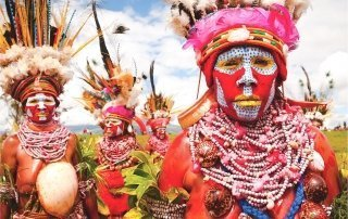 Mount Hagen Cultural Show, Papua New Guinea. Культурное шоу Маунт-Хаген.