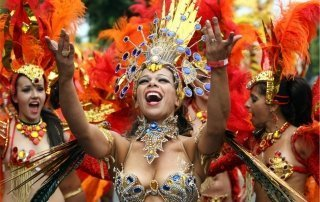 Notting Hill Carnival, London. Карнавал в Ноттинг-Хилл, Лондон