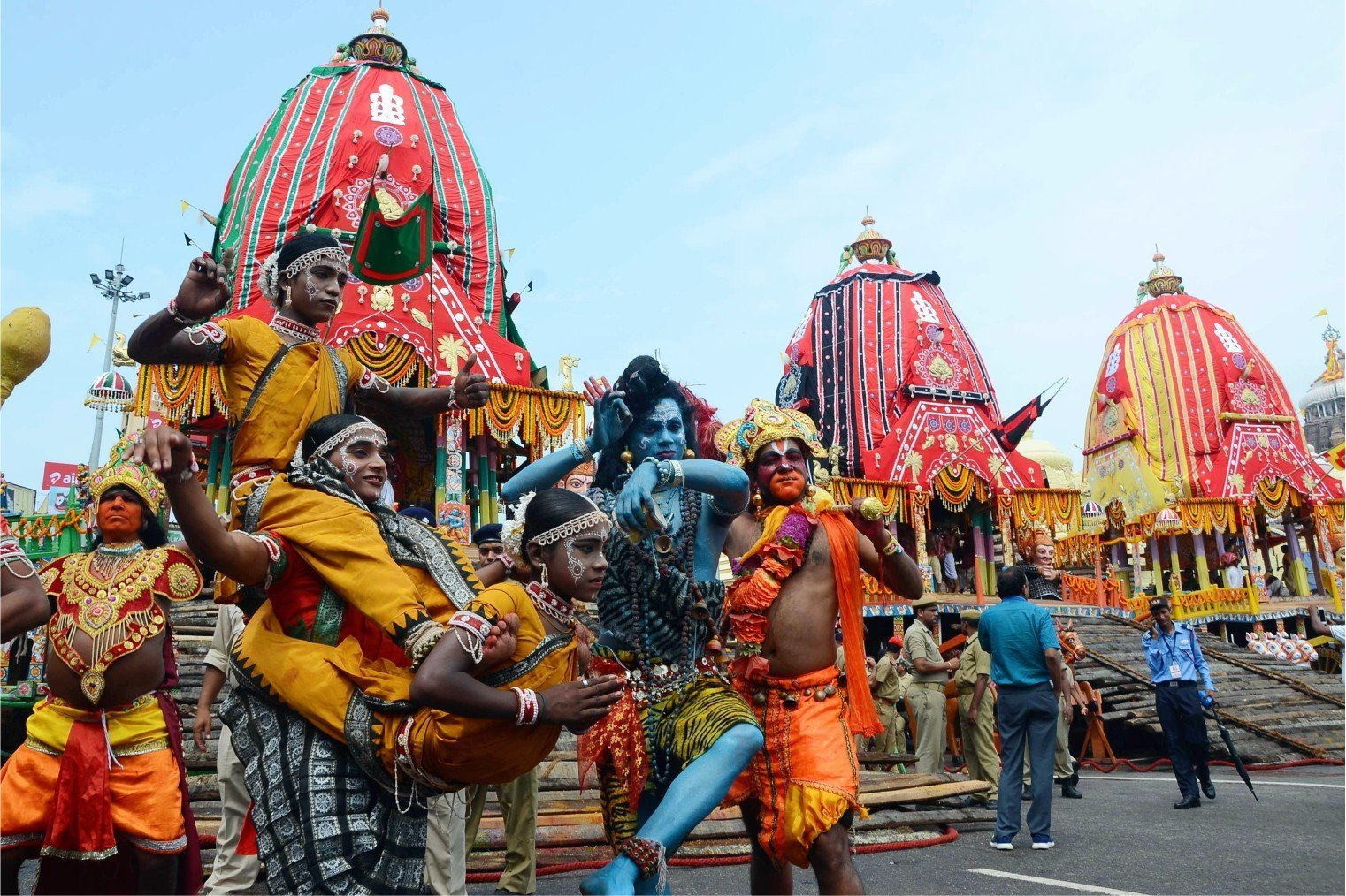 Rath Yatra (Chariot Festival), Puri, India. Праздник Колесниц в Пури, Индия.