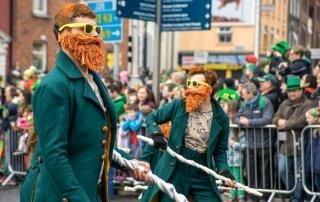St. Patrick's Day, Dublin, Ireland. День Святого Патрика, Дублин, Ирландия.
