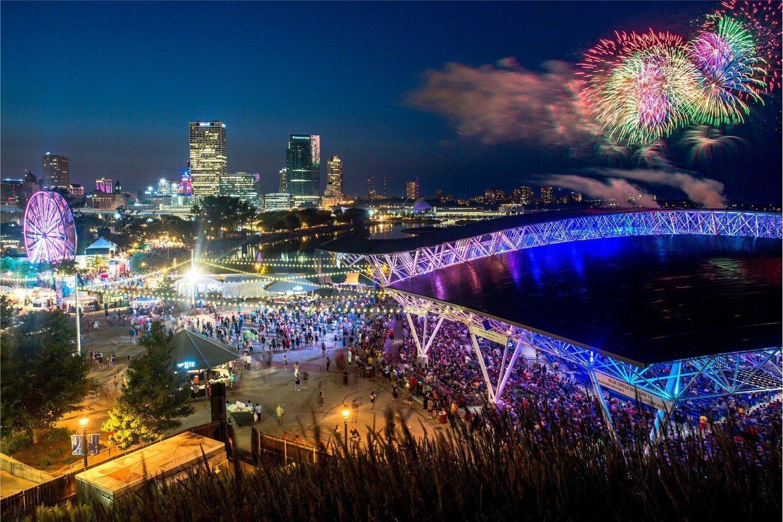 Summerfest (Big Gig), Milwaukee, USA