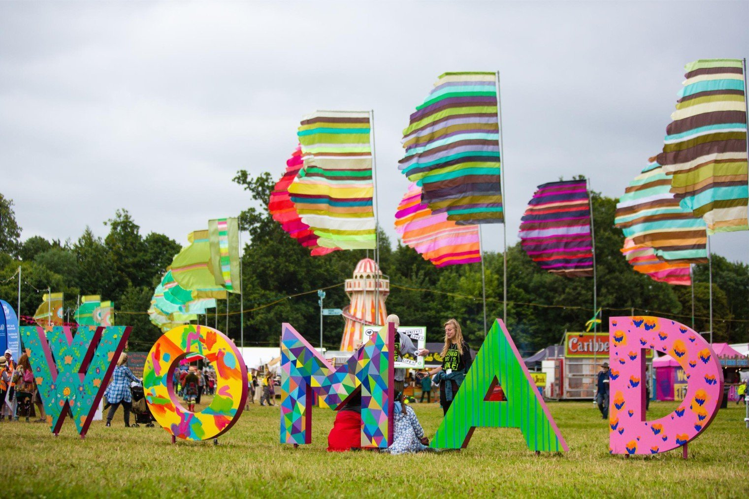 WOMAD — World of Music, Arts and Dance, UK.