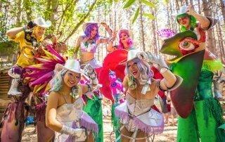 Electric Forest Festival, USA. Фестиваль Электрический Лес.