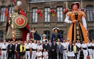 Festival of Giants (Gayant), Douai. Фестиваль Гигантов в Дуэ