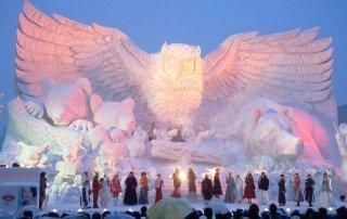 Sapporo Snow Festival. Снежный фестиваль Саппоро