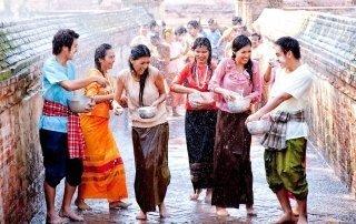 Songkran. Thai New Year. Сонгкран. Тайский Новый год.