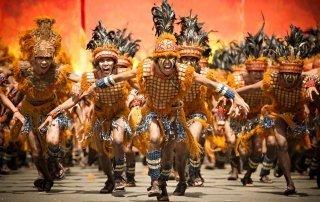 Iloilo Dinagyang Festival, Philippines.