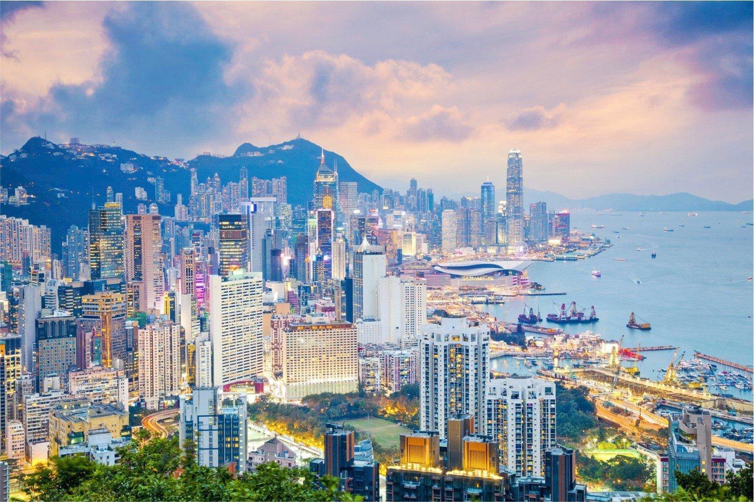 Hong Kong, China. Гонконг