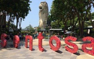 Sentosa. Singapore. Сентоза. Сингапур