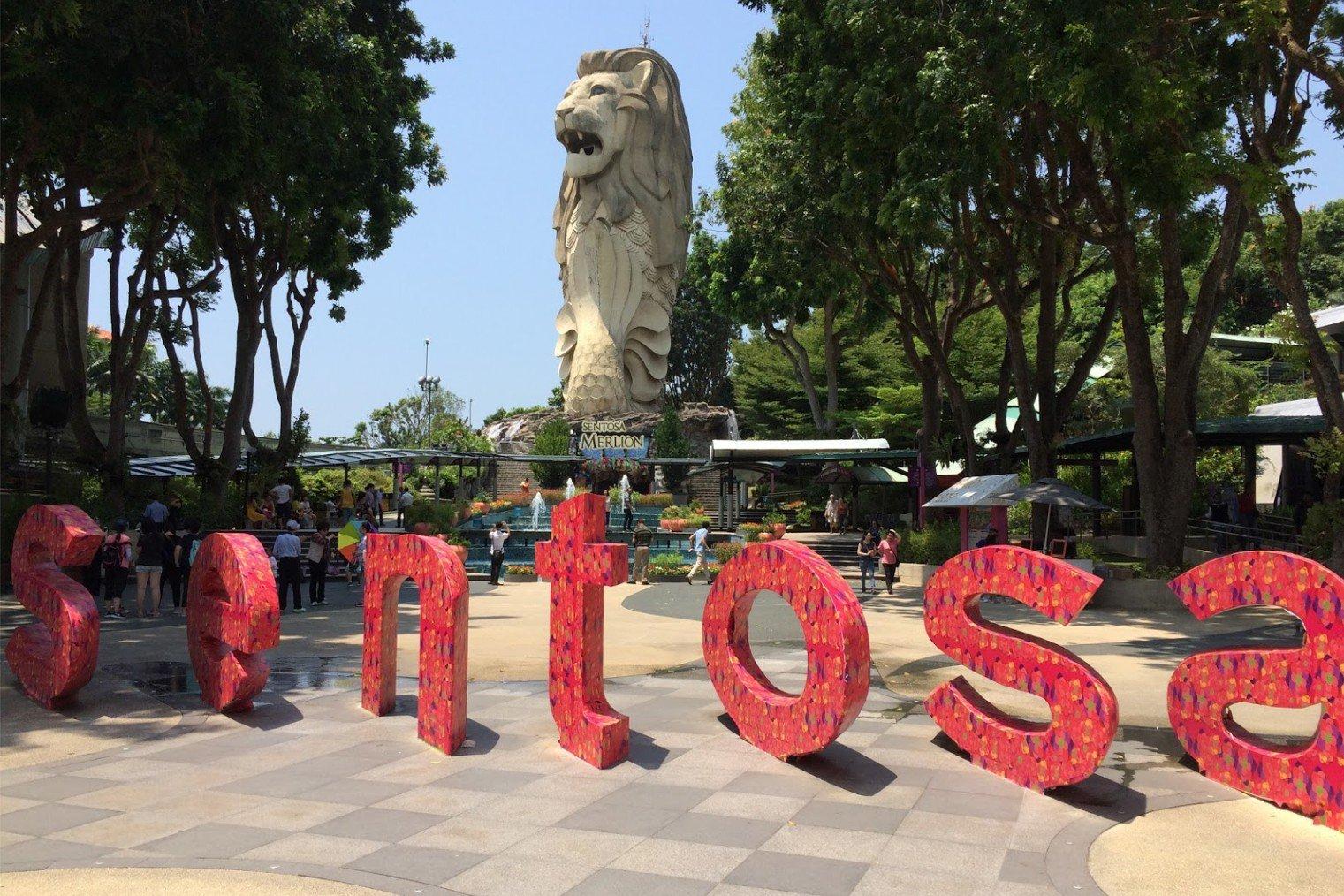 Sentosa Island. Singapore
