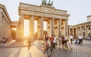 Brandenburg Gate. Бранденбургские Ворота