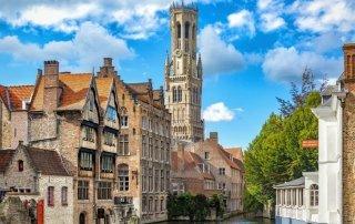 Bruges (Brugge). Belgium. Брюгге. Бельгия